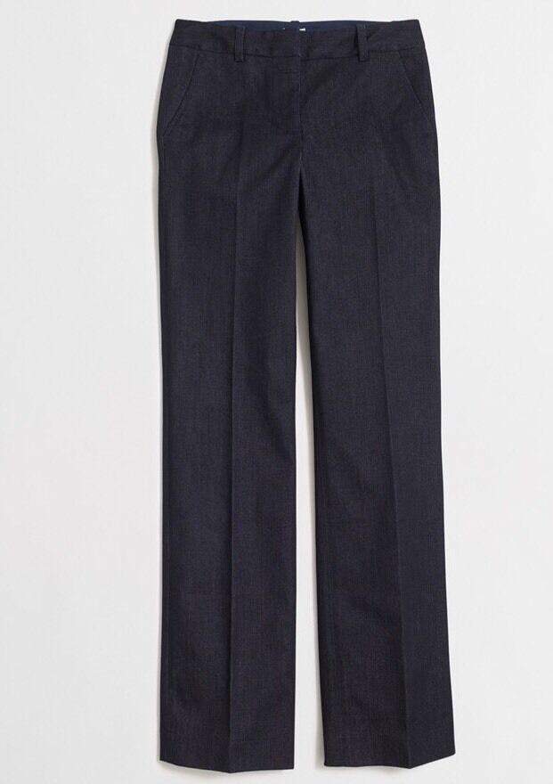 Neuf avec étiquettes  J. Crew Denim Pantalon, coupe large. Größe  8