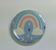 """Button LU Inspired  Key Worker  59mm//2.3/"""" Size Pin Back Badge"""