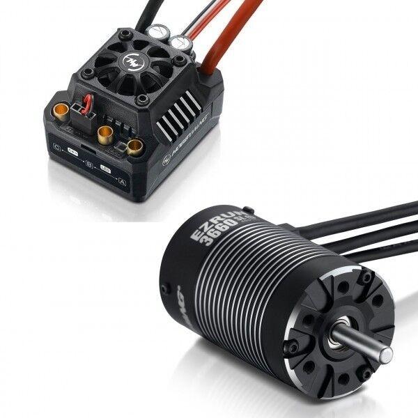 Hobbywing Ezrun max10 sct combo con 3660sl-4000kv Sensorless 1 10