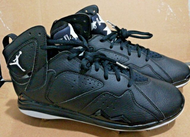Nike Air Jordan 7 Retro Sz 10 Men Metal Baseball Cleats 684943 010 ... 52247d4714