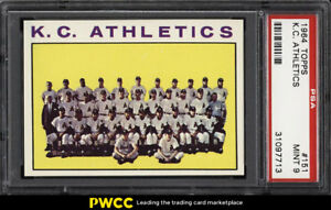 1964-Topps-Athletics-Team-151-PSA-9-MINT-PWCC
