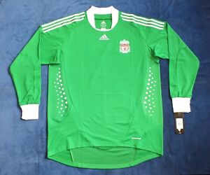 Rare BNWT Liverpool Away GK Shirt 2009-2010 Player Issue European Long Sleeve XL