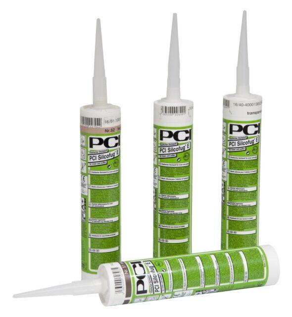 PCI Jointure Silicone 310 ML Jasmin Sanitaire Pour Intérieur et Extérieur