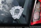 Motorhead - Car Window Sticker -War Pig Snaggletooth Ace of Spades Warpig -V03