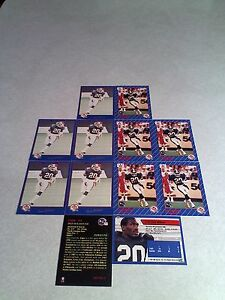Don-Wilson-Lot-of-20-cards-3-DIFFERENT-Football-CFL