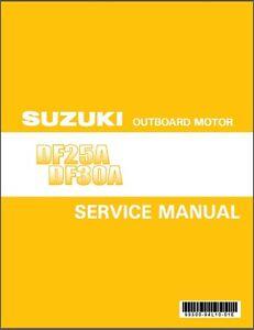 Suzuki df25a df30a efi outboard motor service repair manual cd ebay image is loading suzuki df25a df30a efi outboard motor service repair fandeluxe Choice Image