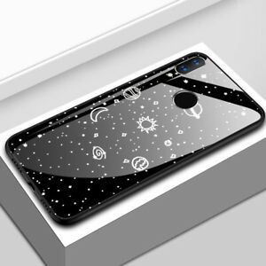 For-Huawei-Nova-3-Luxury-Space-Tempered-Glass-Hybrid-Shockproof-Case-Back-Cover