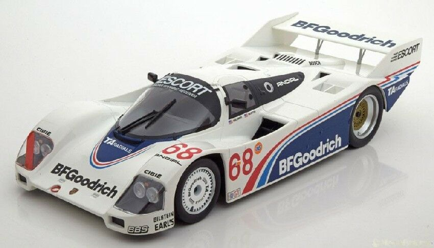 Porsche 962 C Winner 600 Km Riverside 1985 P. Halsmer   J. Morton 1 18 Model