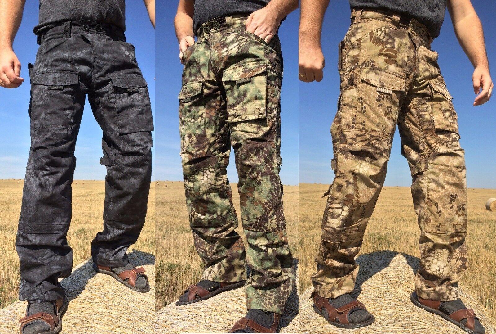 TACTICAL PANTS MENS Kryptek Typhon Zilant Mandrake Highlander  35% cotton  free delivery and returns