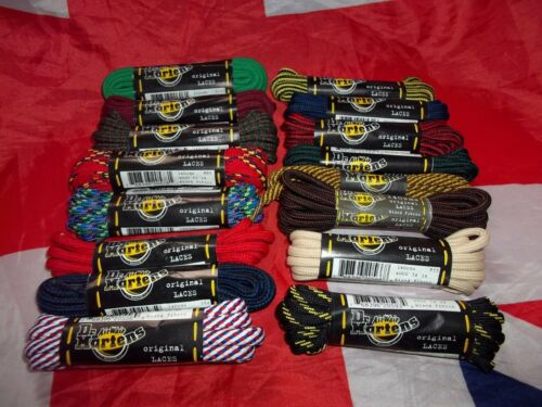 Original 140cm Dr Doc Martens Strong Replacement Laces*Official 8 Eyelet Boots*