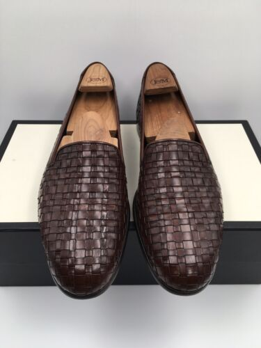 Cole Haan Bragano Italian Weave Leather Loafers Sh