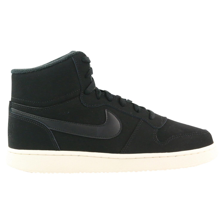 Nike Ebernon MID SE Winter Turnschuhe Schuhe Damen Schwarz AV2478 001