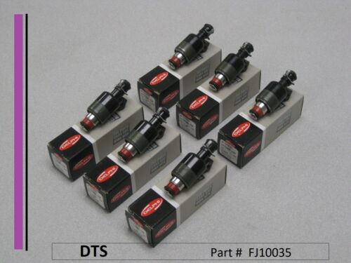 New set of SIX Delphi Fuel Injectors FJ10035