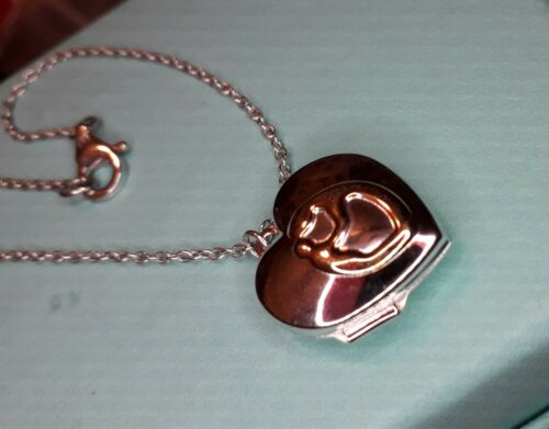 Mother And Child Locket Bracelet Sterling silver DOES NOT COME IN A BOX