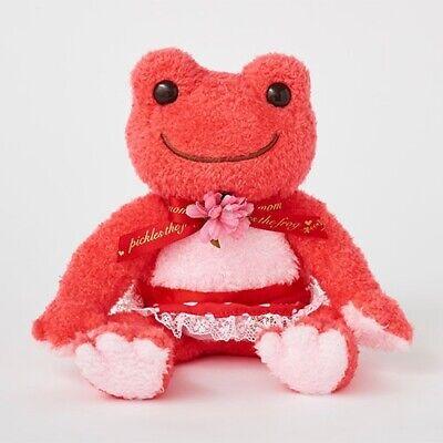 Pickles the Frog Bean Doll Plush Merci Mom Red Japan ...
