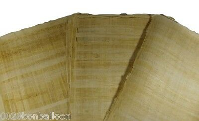 "20 Blank Papyrus Wholesale Lot Egyptian Original  Hand Made 8""X6"" (20x15cm)"