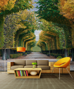 3D Road Forest 657 Wallpaper Murals Wall Print Wallpaper Mural AJ WALL AU Kyra