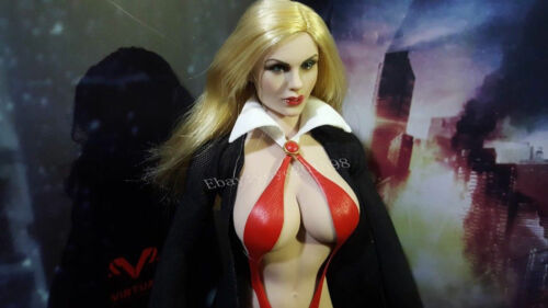 "TBLeagure 1:6 Clothes 12/"" FeMale Figure Accessory Vampirella Bikini Boots /& Coat"