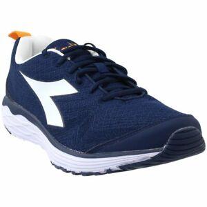 Diadora-FLAMINGO-Running-Shoes-Navy-Mens