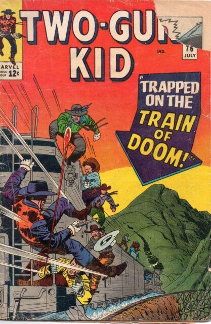 Two Gun Kid #76 (Jul 1965, Marvel) Fair/Good