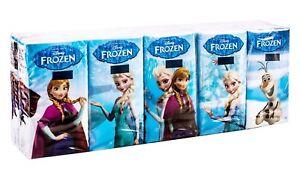 Disney frozen elsa anna olaf pocket print on tissues for Snowman pocket tissues