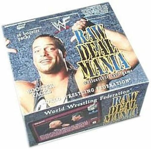 Raw Deal CCG Mania Booster Box