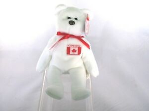 a45804749b6 Original 1996 Ty Beanie Baby Maple Bear Style 4600 With Extra Tush ...