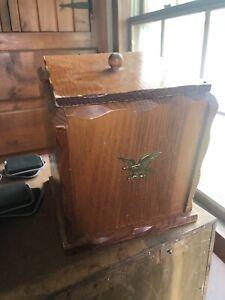 vintage antique wood boxes