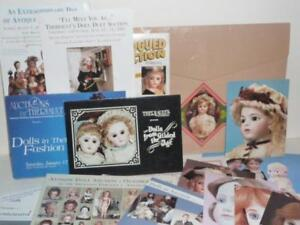 Theriault-039-s-Dollmasters-Frasher-039-s-DOLL-AUCTION-catalog-flyers-PHOTOS