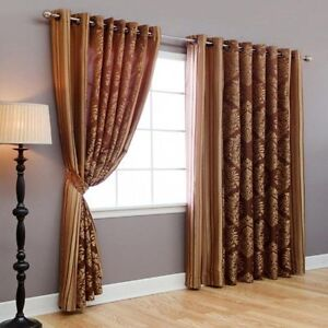 Beautiful Image Is Loading Wide Width Grommet Window Curtains And Drapes 84