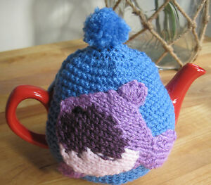 HAND-KNITTED-TROPICAL-FISH-FUN-TEA-COSY-ONE-CUP-TEAPOT