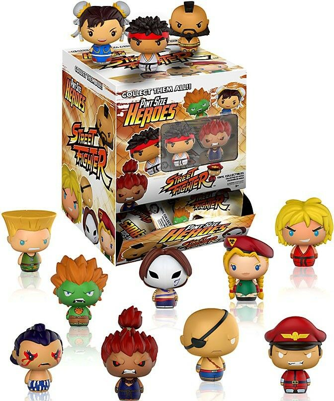Funko Pint Größe Heroes Street Fighter Mystery Box
