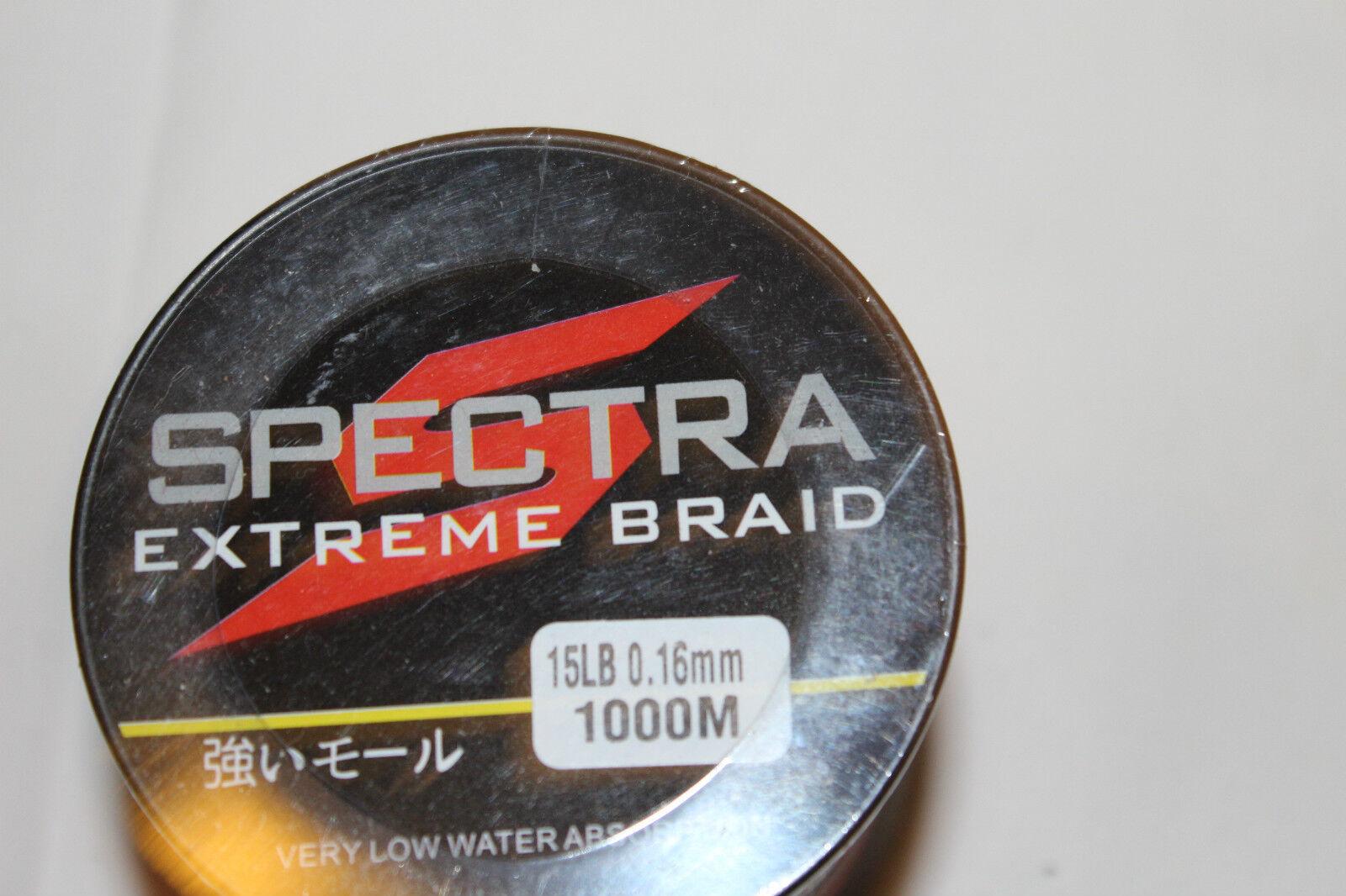 SPECTRA  DYNEMA -GEFLOCHTENE SCHNUR- 1000m-016mm-6,8 kg-Orange