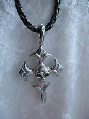 Metal Pendant Necklace ☆ MENS BOYS WOMENS LADY ☆ goth emo punk rock biker surfer