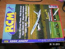 !!! RCM n°291 Plan Encarté Hawker Hurricane / Cessna 182 Magister Diablo 3D