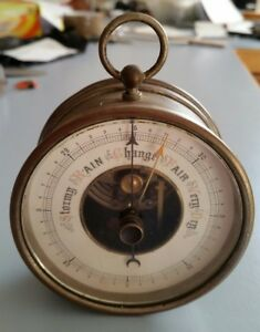 Antique-Barometer-Vintage-Rare-Collectable-Barometer-1800-039-s-Made-in-Germany