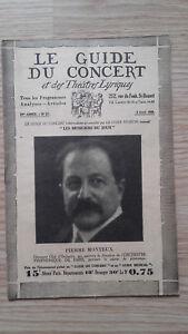 El-Guia-de-La-Concierto-Y-Las-Teatro-Letra-Piedra-Monteux-N-27-1929