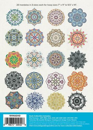 Mandala Madness Anita Goodesign Embroidery Machine Design CD