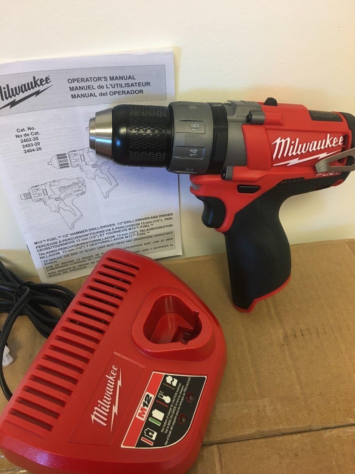 Milwaukee 2403-20 12V 12 Volt M12  Li-Ion 1/2