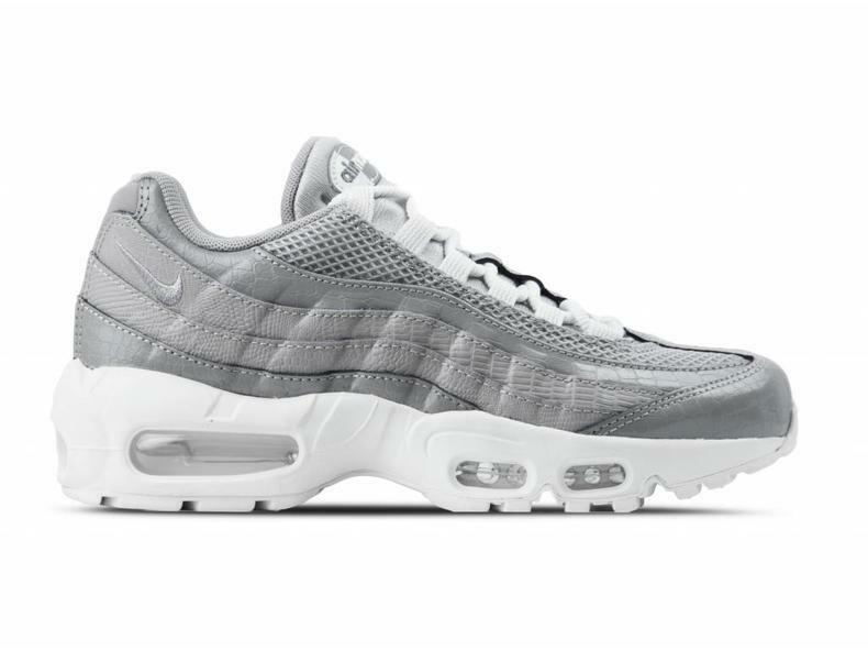 Nike WMNS Air Max 95 PRM Atmosphere Grey White 807443-015 Women's sz 8.5 SNEAKER
