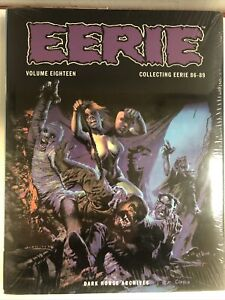 Eerie Archives Volume Eighteen: Collecting Eerie 86-89 HC (NM) Sealed