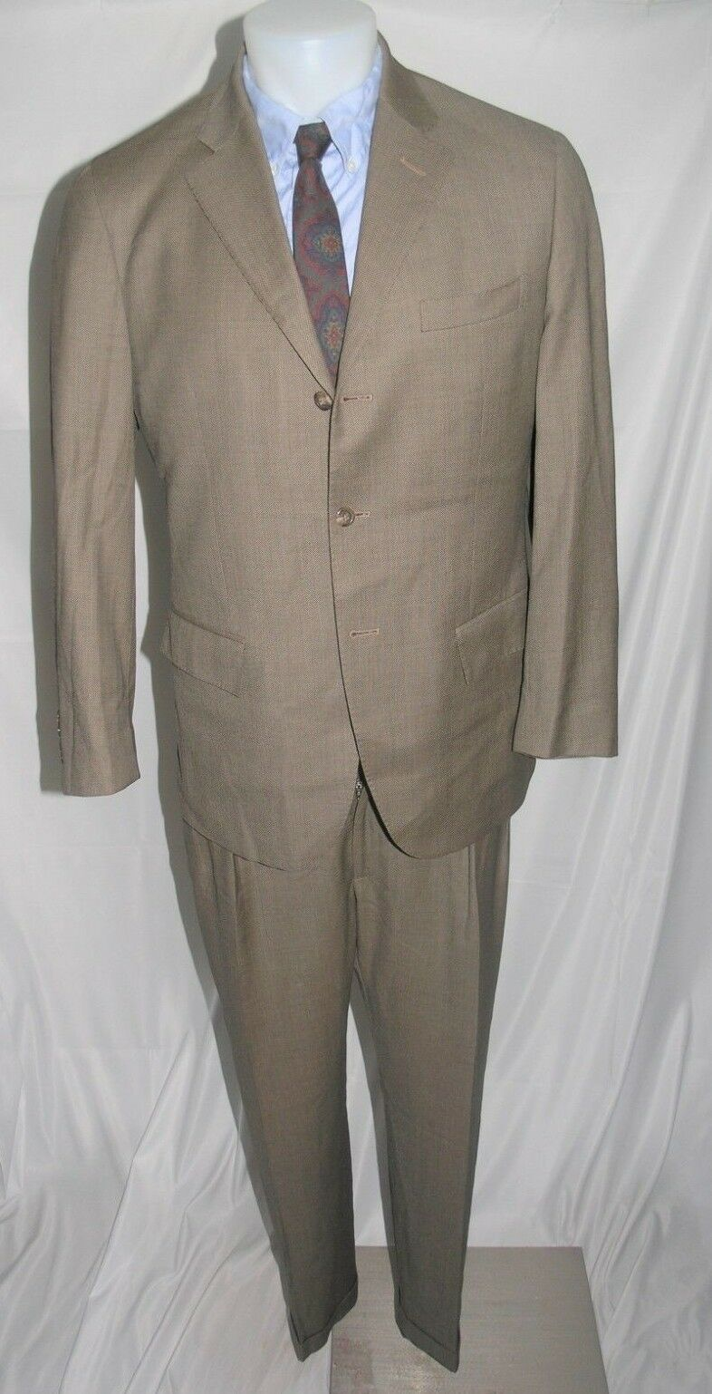 Polo Ralph Lauren x Corneliani Three Roll Two Suit 40 R 35 x 29