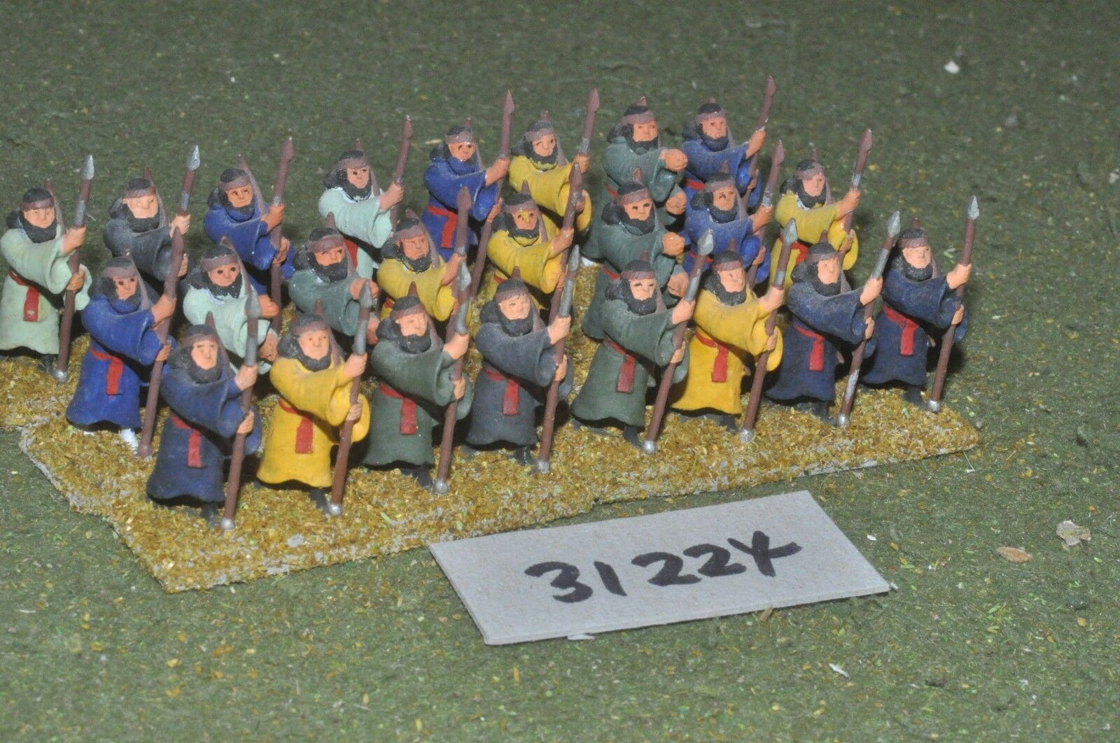 25mm classical   persian - heavy 24 figures - inf (31224)
