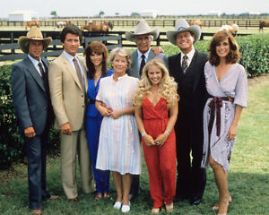 Dallas-Cast-18640-8x10-Photo