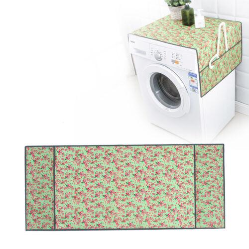 Staubdicht Waschmaschinenbezug Trockner Kühlschrank Abdeckung Wasserdicht 130cm
