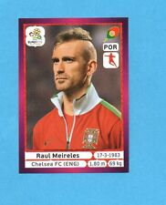 PANINI-EURO 2012-Figurina n.267- MEIRELES - PORTOGALLO -NEW-DARK BOARD