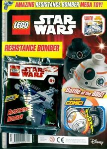 LEGO-STAR-WARS-MAGAZINE-ISSUE-44-2019-WITH-RESISTANCE-BOMBER-NEW