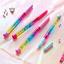 0.5mm Fairy Stick Ballpoint Pen Drift Sand Glitter Crystal Ball Pen Rainbow Chic