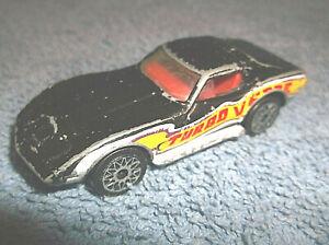 1979 MATCHBOX SUPERFAST 1:64 CHEVROLET CORVETTE TURBO VETTE DIECAST CAR