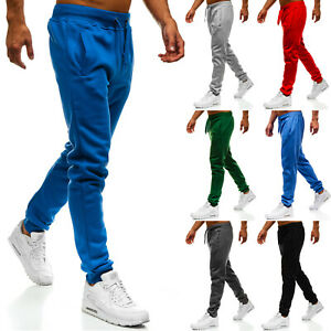 Trainingshose Sporthose Jogginghose Sport Fitness Slim Fit Herren BOLF 6F6 Basic